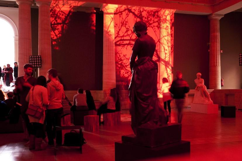 Slide Liveset at Museum of Fine Arts Ghent